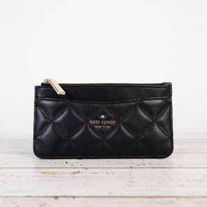 NWT Kate Spade Natalia Quilted Leather Card Holder